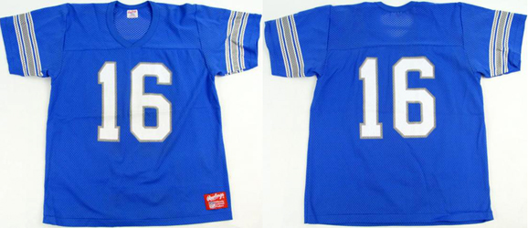 NFL グッズ 80'S-90'S DeadStock Vintage Rawlings Jersey #16 Chuck Long ( チャック・ロング ) / Detroit Lions ( デトロイト ライオンズ ) 通販 上野
