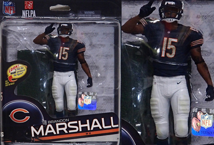 NFL グッズ 通販 上野 NFL Sports Picks Series 34 #15 Brandon Marshall Chicago Bears