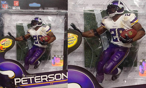NFL グッズ 通販 上野 NFL Sports Picks Series 34 #28 Adrian Peterson Minnesota Vikings