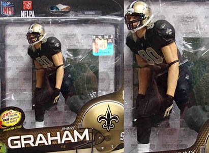 NFL グッズ 通販 上野 NFL Sports Picks Series 34  #80 Jimmy Graham NewOrleans Saints